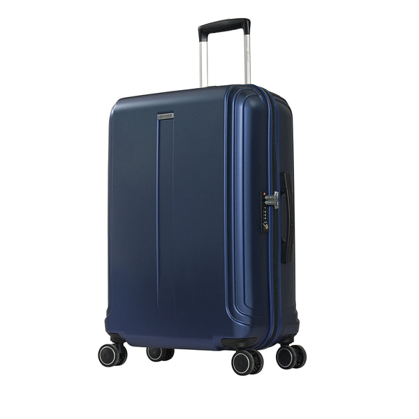 "24"" PC Zipper Spinner checked baggage trolley by Eminent (KJ09-24) - buyluggageonline"