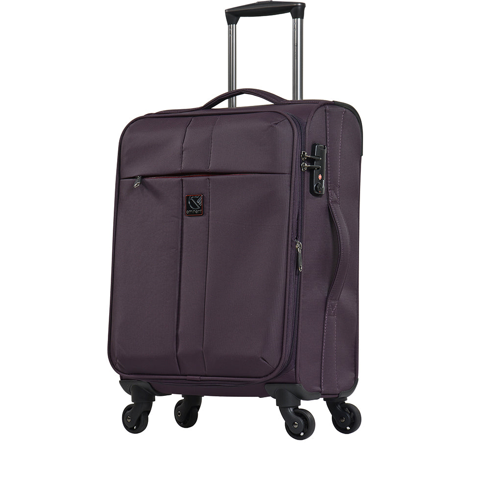 "Eminent 28"" Perpendicular twin 4 wheels check in baggage trolley case (V6101-28) - buyluggageonline"