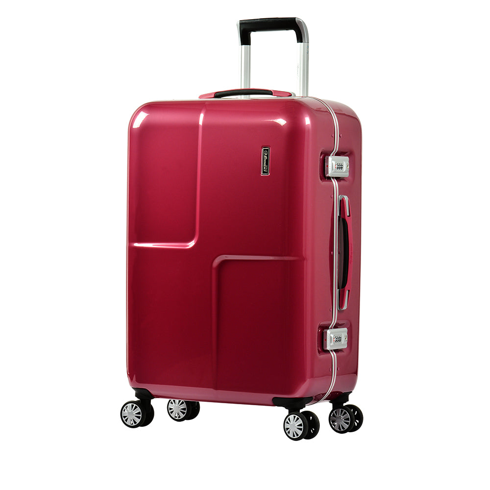 "Eminent luggage  24"" PC Mirror Spinner checked baggage trolley case (E9L0-Mirror-24) - buyluggageonline"