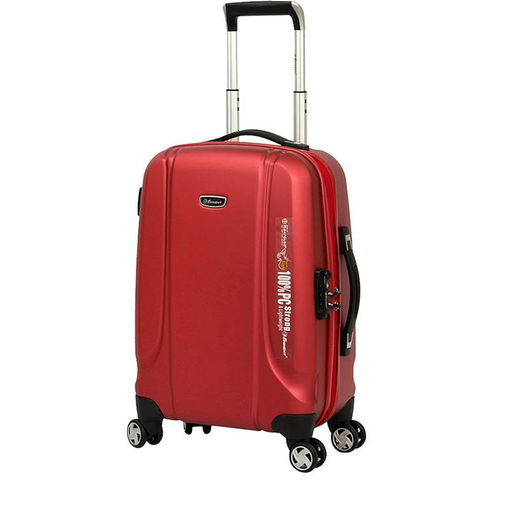 Eminent 28 Inch PC Emboss 732 Spinner checked baggage Trolley bag (KF31-28) - buyluggageonline