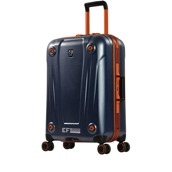 "24"" PC Matt twin flight luggage size trolley with 4 wheels by Eminent (E9H3-24) - buyluggageonline"