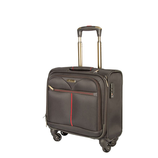 Pilotcase flight crew luggage  by Senator for executive use (GM12082-10AW-16.5 GRY) - buyluggageonline
