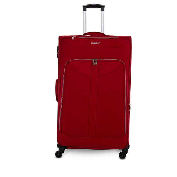 "24"" Softside baggage size luggage trolley bag by Senator (LW010-24) - buyluggageonline"