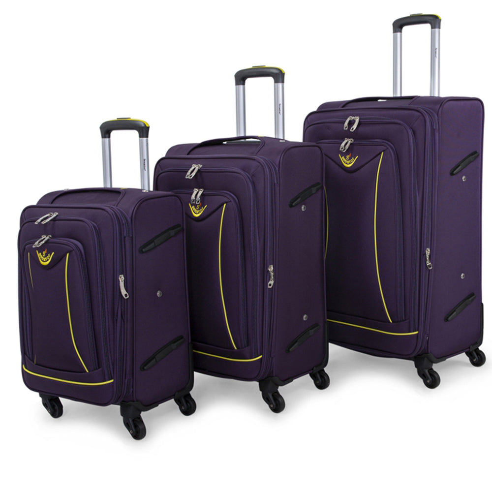Senator Soft Spinner Luggage set of 3 (LL032-3) - buyluggageonline