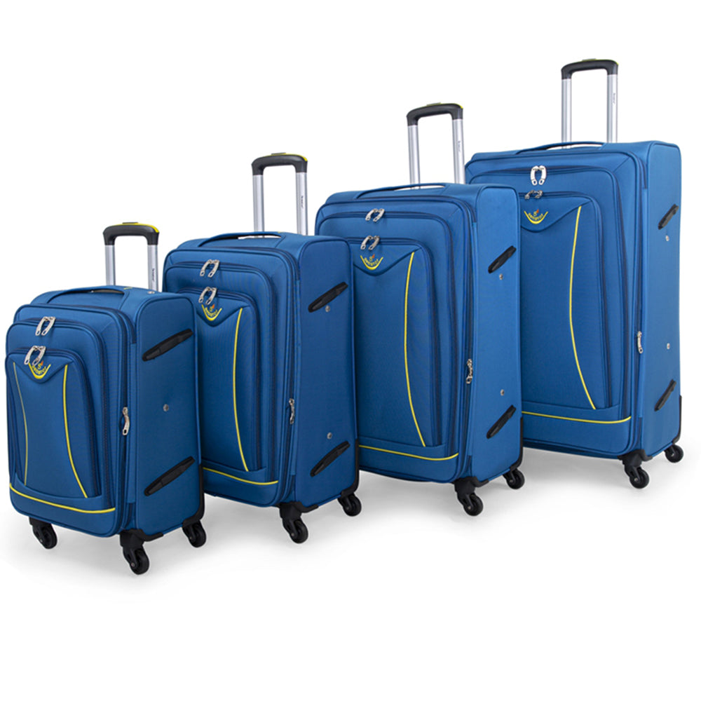Senator Soft Spinner Luggage set of 4 (LL032-4) - buyluggageonline