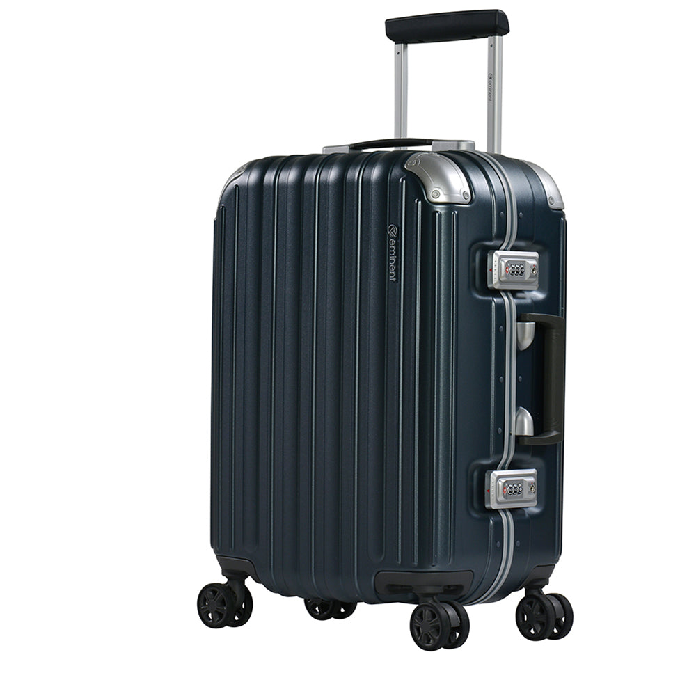 "Eminent checked baggage 24"" PC Frame Light Weight Spinner luggage Trolley bag (E9R5-24) - buyluggageonline"