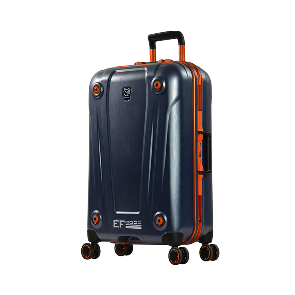 "Eminent luggage bag 20"" PC Matt 4 twin wheel trolley (E9H3-20) - buyluggageonline"