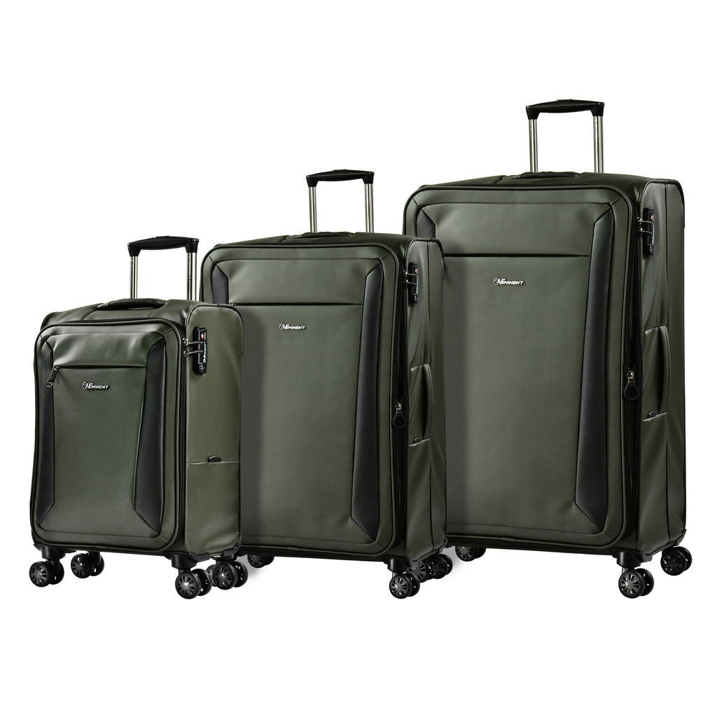 Eminent Stylish Luggage Set of 3 Bags 4-twin Spinner Wheel (V782A-3)