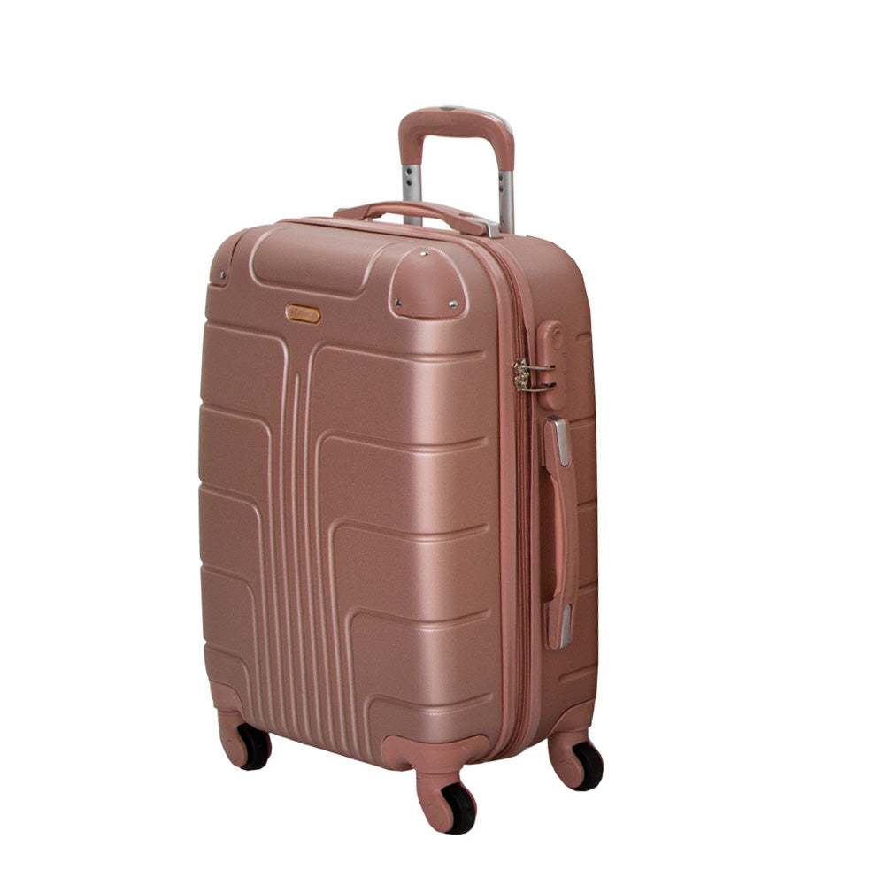 Stylish Checked Luggage Trolley bag by Senator (A1012-24) - buyluggageonline