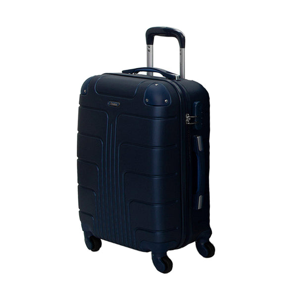 Stylish Checked Luggage Trolley bag by Senator (A1012-28) - buyluggageonline