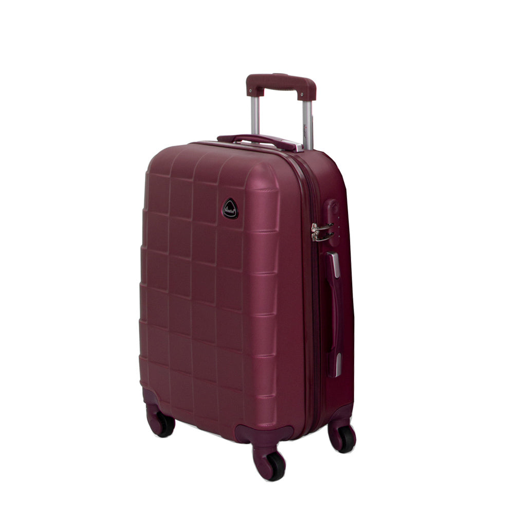 Senator Checked Luggage size  trolley bag (A207-32) - buyluggageonline