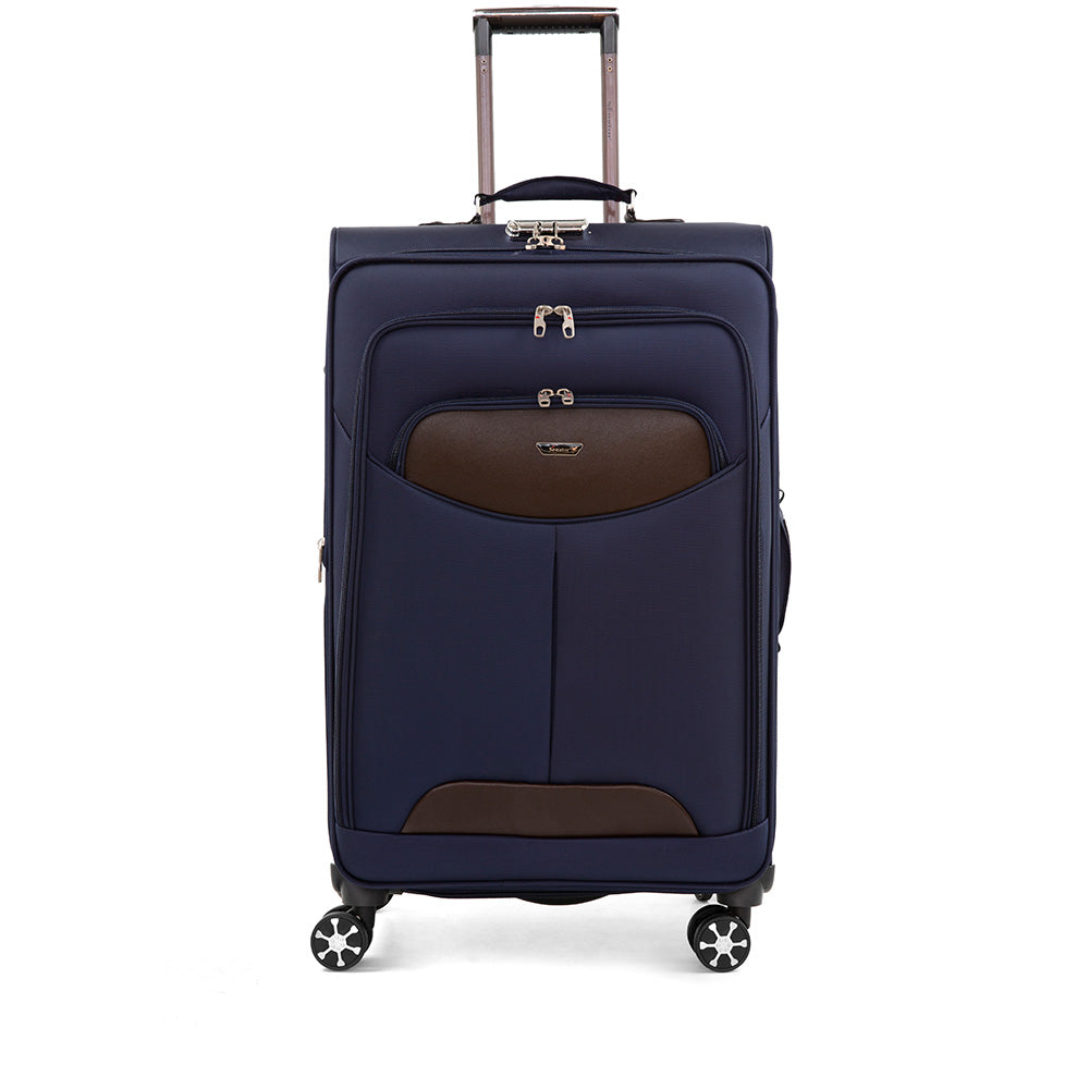 Medium size checked luggage trolley by Senator (X08-24)