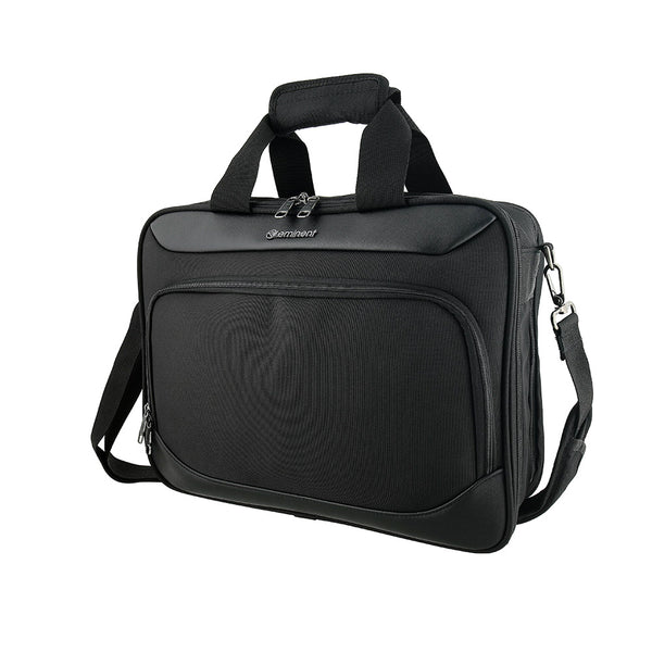 Eminent 17 Inch Executive Office Laptop Case with solid shoulder strap- (S0360-17) - buyluggageonline