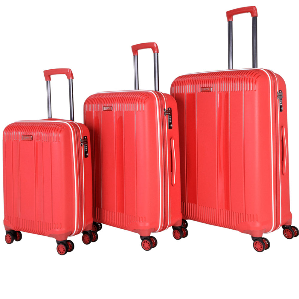 Luggage set of 3 by Summit (PP704T4-3) - buyluggageonline