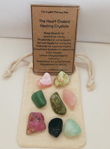 The Heart Chakra Healing Crystals