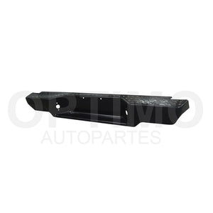 DEFENSA TRASERA NEGRA ESCALON 2/4WD (D-21 94-07) PARA NISSAN NP-300 (D-22)  2008 al 2015 Part: CDNN0702
