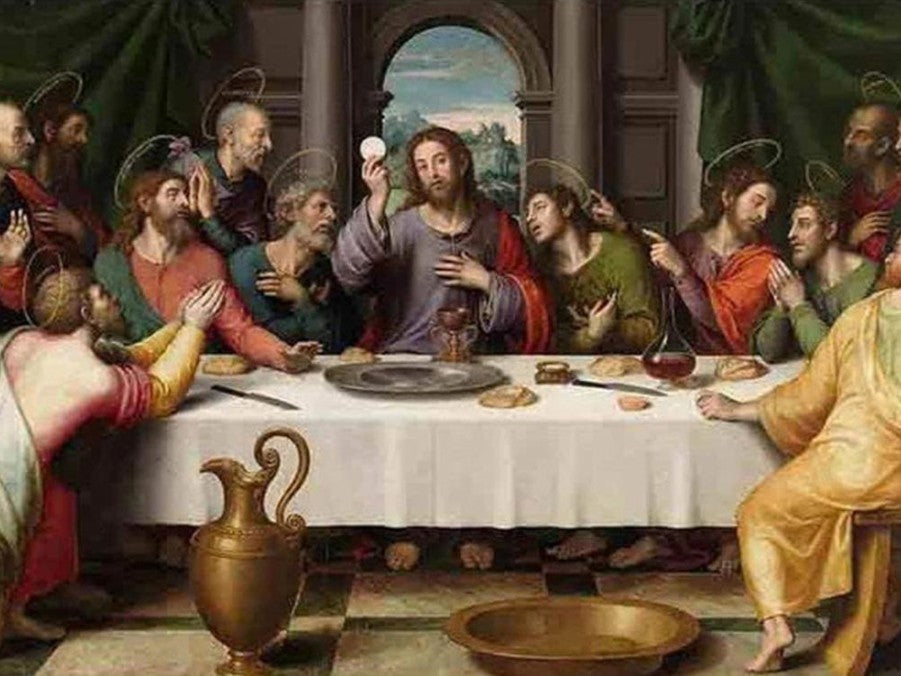 Diamond Painting The Last Dinner Portrait Religion Jesus Cross Stitch Kit Home Decoration Full Square Drill Handcraft
