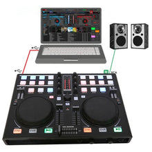 Load image into Gallery viewer, Smart Mobile phone DJ Dish Adjuster MIDI Controller Computer Multifunction Built-in Sound Card Playing Audio Adjustment Players