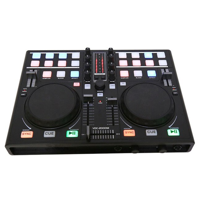 Smart Mobile phone DJ Dish Adjuster MIDI Controller Computer Multifunction Built-in Sound Card Playing Audio Adjustment Players