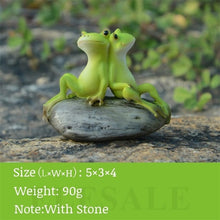 Load image into Gallery viewer, Creative Cute Resin Rural Frog Statue Outdoor Frogs Sculpture For Home Desk Garden Store Decorative Decor Ornament Dropshipping