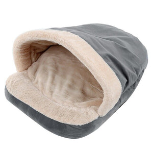 Pet Soft Dog Cat Bed House Winter Warming Nest Mat For Small Dogs Sleeping Bag Chihuahua Teddy Kennels Fast shipping