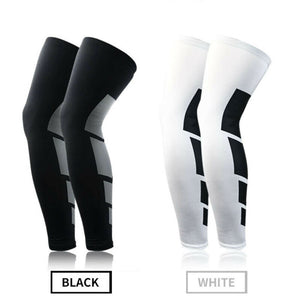Simply Fashion Fitness Ankle Compression Socks Knee High Support Stockings Leg Thigh Sleeve Sport Socks Outdoor Men Women