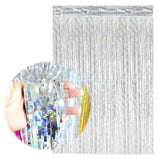 Metallic Fringe Foil Glitter Curtains 2021 Happy New Year 2011 Merry Christmas Eve Party Backdrop Decorations For Home Ornaments