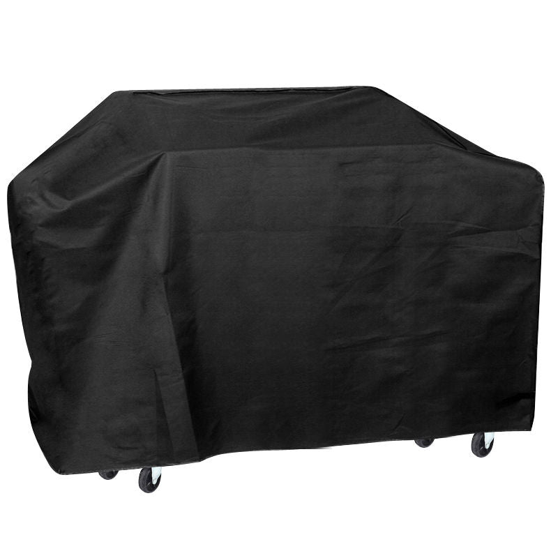 JEYL 75'' Wide Waterproof BBQ Cover Gas Barbecue Grill Protection Black