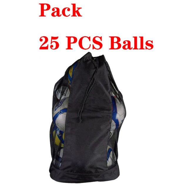 MAICCA Volleyball balls bag backpack Super big for Football basketball Soccer 25 pcs fit ball net bags sports training bag
