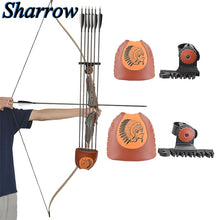 Load image into Gallery viewer, Archery Arrow Quiver 6-Arrows Deadlock Lite Arrow Quiver Rest No arrows Shooting Recurve Bow Hunting Portable Bow Accessories