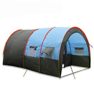 10persons large family tent/camping tent/tunnel tent/1Hall 2room party tent with big space большая туннельная палатка