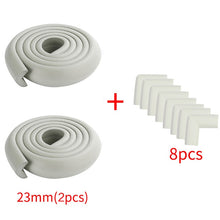 Load image into Gallery viewer, 8pcs Baby Safety Proofing Edge Corner Guards Desk Table Corner Protector Children Protection Furniture Bumper Corner Cushion