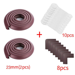 8pcs Baby Safety Proofing Edge Corner Guards Desk Table Corner Protector Children Protection Furniture Bumper Corner Cushion