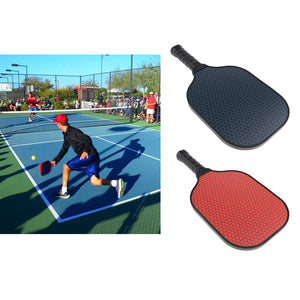 Count of 2 Reliable Pickleball Paddles, Ultralight Carbon Fiber Racquets, Outdoor Pickle Ball Rackets