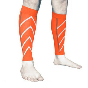 1 Pair Calf Support Compression Leg Sleeve Socks Outdoor Exercise Sports Safety DO99