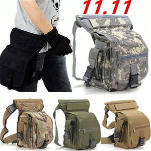 2020 Belt bag Fashion Men Army Vintage Thigh Bag Utility Waist Pack Pouch Adjustable Hiking Male Waist Hip Motorcycle Leg Bag