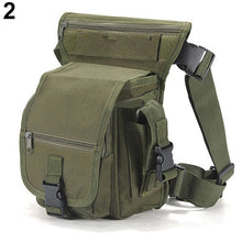Load image into Gallery viewer, 2020 Belt bag Fashion Men Army Vintage Thigh Bag Utility Waist Pack Pouch Adjustable Hiking Male Waist Hip Motorcycle Leg Bag