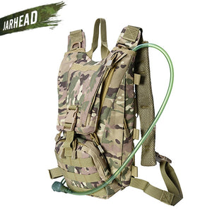 2.5L Water Bag Sport Riding Tactical Camel bag Backpack Hydration Military Camouflage Pouch Rucksack Camping Pack Bicycle Bag