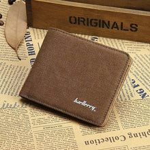 Load image into Gallery viewer, Men Wallets Fresh Designer's Purse Men Brand Canvas Card purse Mens Wallet Wholesale price male clutch