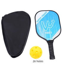 Load image into Gallery viewer, Lightweight Carbon Fiber Pickleball Paddle Unisex Polymer Honeycomb Core Pickleball Racket Beat Racquet with Protective Bag