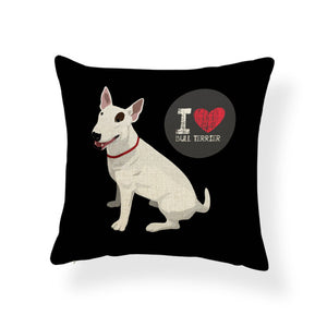 Beagle Boston Terrier Cushions Chihuahua Doberman Pillowcases Improvement Home Decorating Throw Pillow Covers 17X17 Linen Luxury