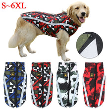 Load image into Gallery viewer, Dog Jacket Large Breed Dog Coat Waterproof Reflective Warm Winter Clothes for Big Dogs Labrador Overalls Chihuahua Pug Clothing
