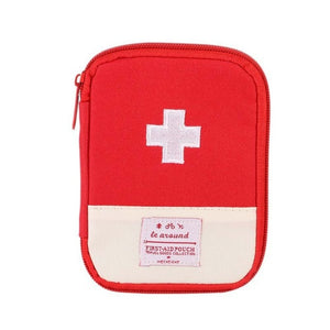Outdoor First Aid Emergency Medical Kit Survival bag Wrap Gear Hunt small medicine kit