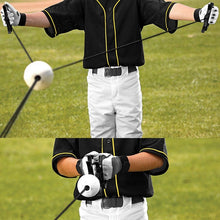 Load image into Gallery viewer, Baseball Batting Trainer Portable PU Swing Training Device Practice Tool