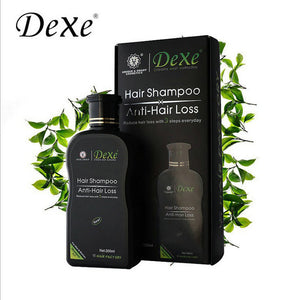 1PC 200ml Dexe Black Hair Shampoo Anti Hair Loss Chinese Herbal Polygonum Multiflorum Hair Growth Treatment For Men & Women