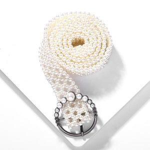 Women's Belts Belly Chains Wedding Simulated Pearls Handmade Cute Girl Gift Belt Accessories Body Jewelry