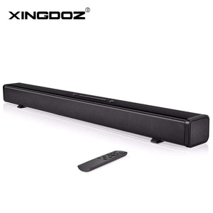 TV Soundbar 60W Bluetooth Speaker Stylish Hifi Home Theater Systems Sound Bar 3D Stereo Surround Support Optical/AUX/TF Card/USB