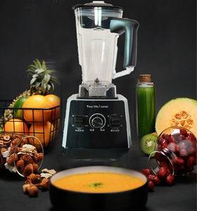 Electric Multifunctional High Performance Blender for Smoothies Juice 3HP BPA Free 1.6 Liters