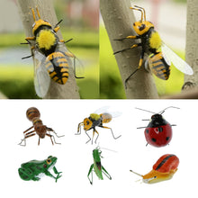Load image into Gallery viewer, Various Animal Insect Statue Yard Tree Lawn Ornament Sculpture Decoration Garden Craft
