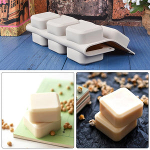 9 Grids Square Silicone Soap Molds Handmade Soap For Diy Soap Making Chocolate Cake Mold Kitchen Dining And Bar